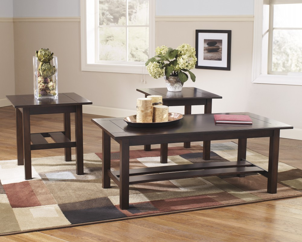 Lewis - Occasional Table Set (Set of 3)