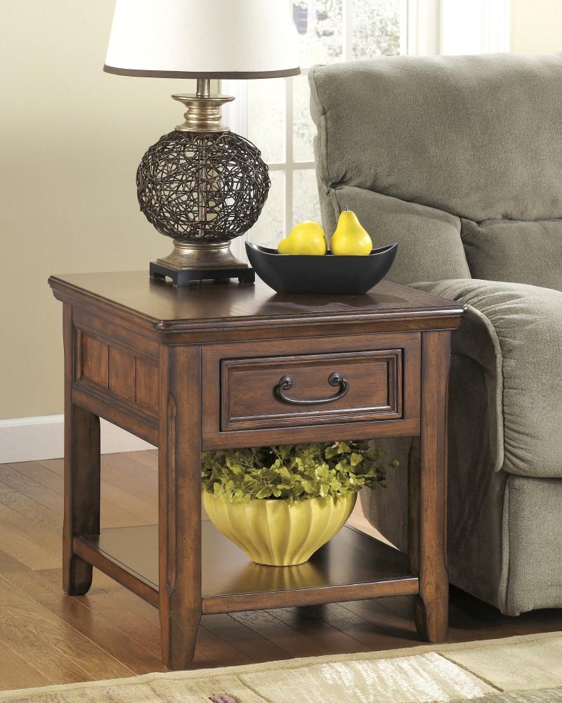 Woodboro - Rectangular End Table