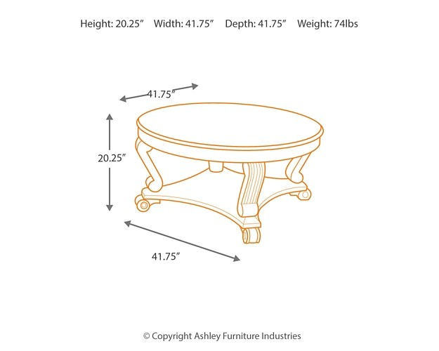 Ashley Furniture Brookfield Coffee Table