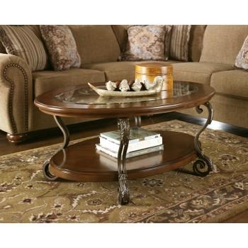 Nestor - Oval Cocktail Table