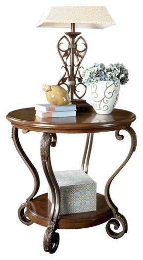 Nestor Round End Table T517 6 End Tables Price Busters Furniture