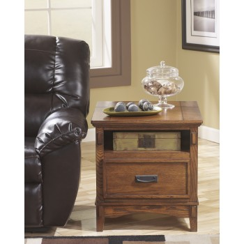 Cross Island - Rectangular End Table