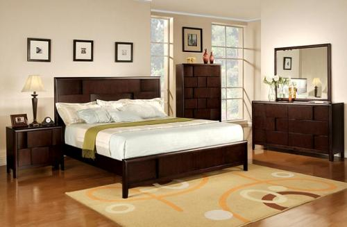 Eclipse Merlot Bedroom Group
