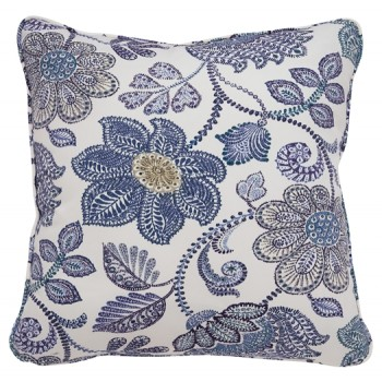 Miriam - Blue/Cream - Pillow