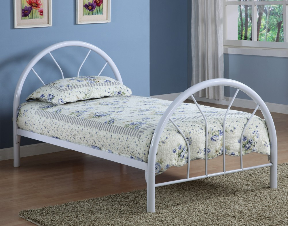 Twin Size Bed (metal) - 2389W