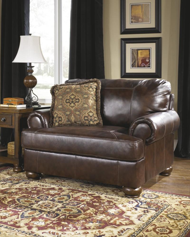Axiom - Walnut - Chair and a Half