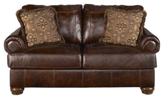 Axiom - Walnut - Loveseat