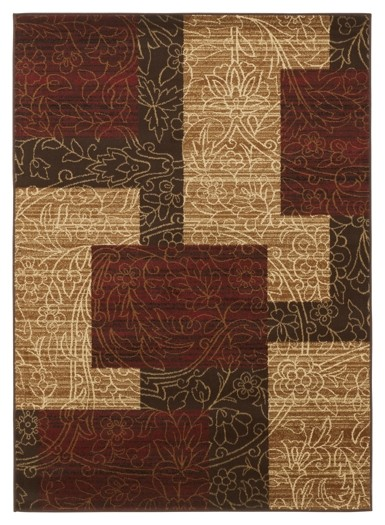 Rosemont Red Medium Rug R197002 Rugs Neighborhood Closet