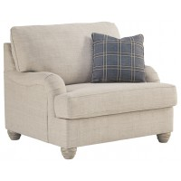 Traemore - Linen - Chair and a Half