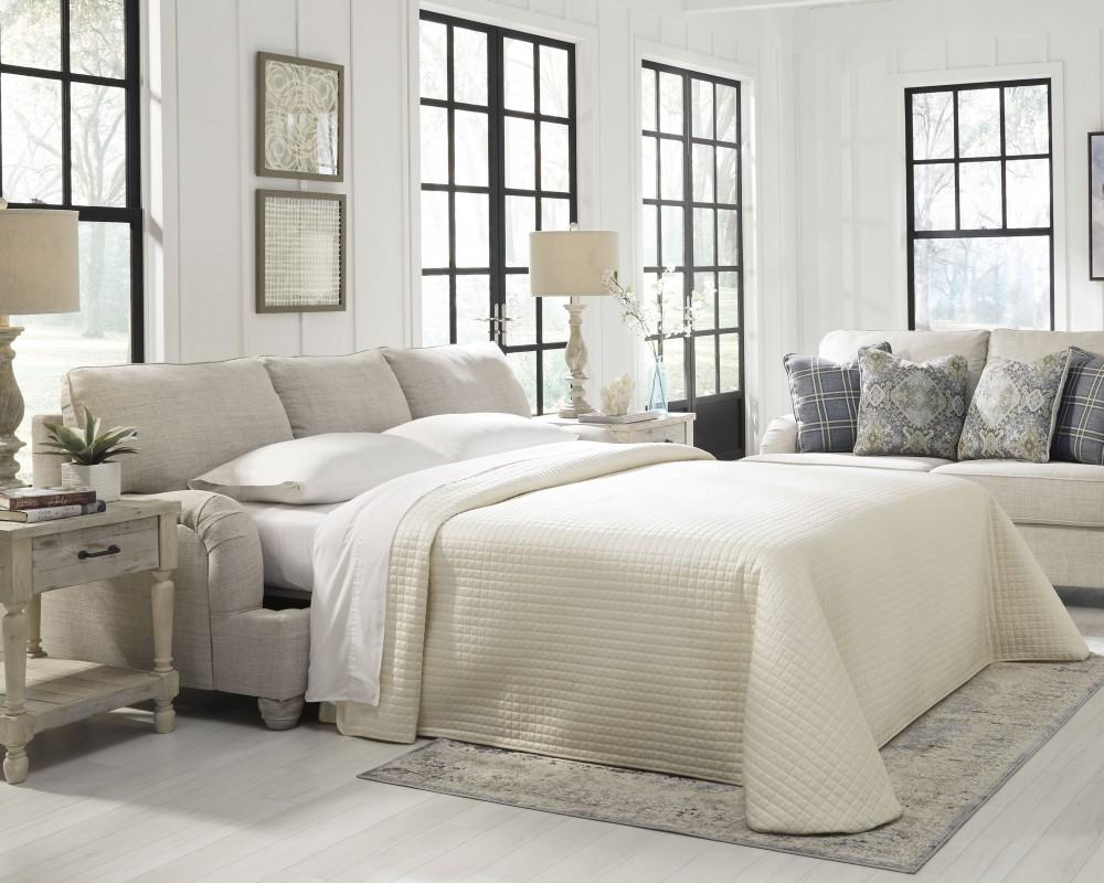 Traemore Linen Queen Sofa Sleeper Sleeper Sofa