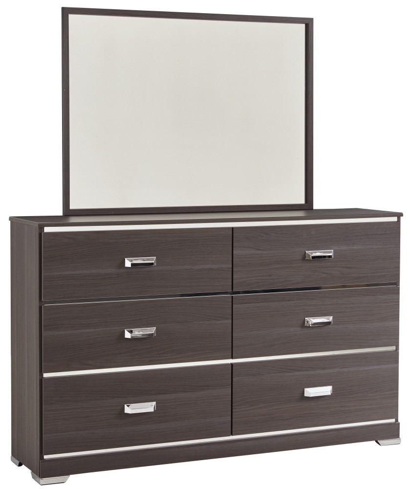 Annikus - Gray - Bedroom Mirror