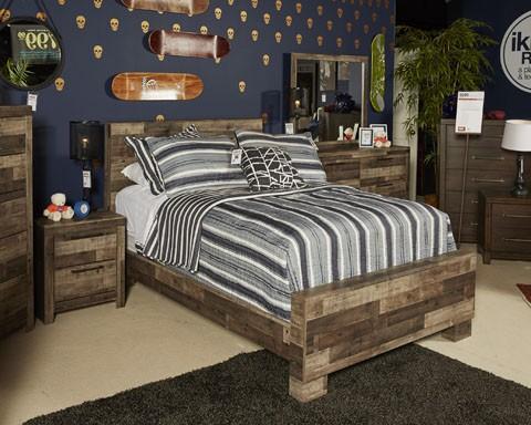 Derekson - Multi Gray - Twin/Full Under Bed Storage & Derekson - Multi Gray - Twin/Full Under Bed Storage | B200-50 ...
