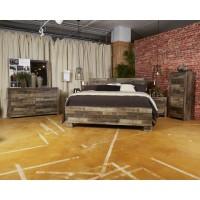 Derekson - Multi Gray - Queen/King Under Bed Storage