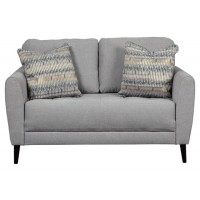 Cardello - Pewter - Loveseat