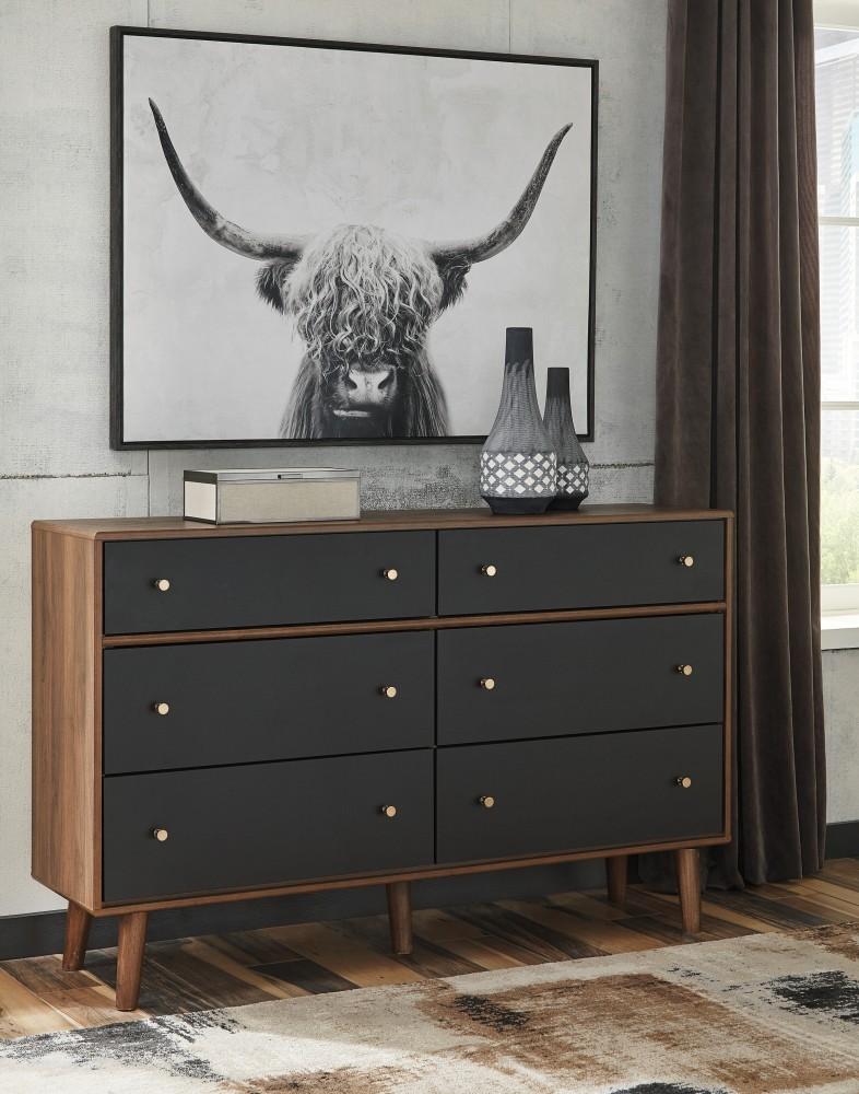 Daneston - Brown/Graphite - Dresser