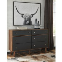 Daneston - Brown/Graphite - Dresser