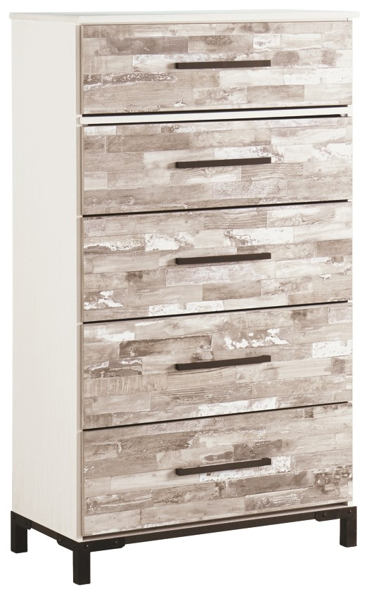 Evanni - Multi - Five Drawer Chest