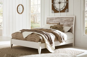 Evanni Queen Panel Footboard with Rails