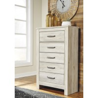 Bellaby - Whitewash - Five Drawer Chest