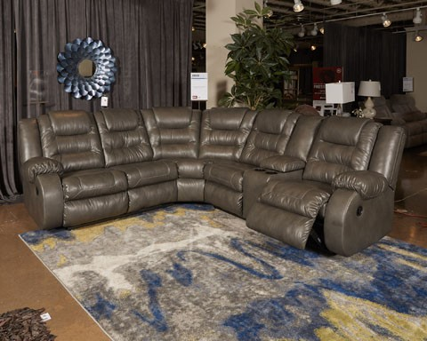 Walgast   Gray   LAF Reclining Loveseat