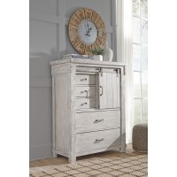 Brashland - White - Five Drawer Chest