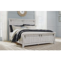 Brashland - White - King/Cal King Panel Headboard