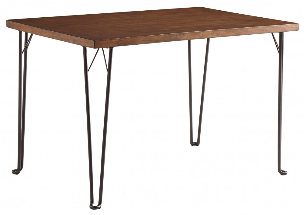 Moddano   Brown/Black   Rectangular Dining Table