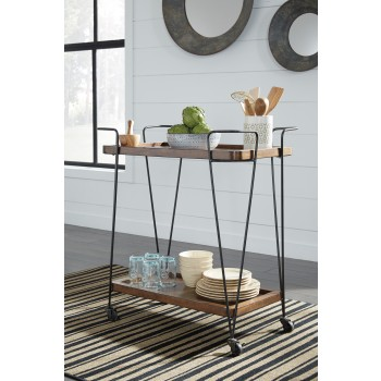 Moddano - Brown/Black - Kitchen Cart