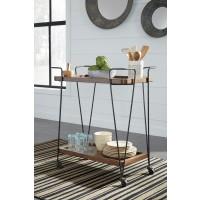 Moddano - Brown/Black - Kitchen Cart