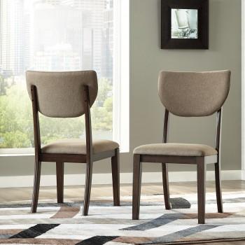 Joshton - Dark Brown - Dining UPH Side Chair (2/CN)