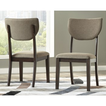Joshton - Dark Brown - Dining UPH Side Chair (2/CN)