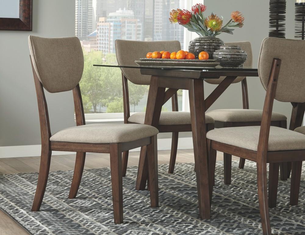 Joshton - Dark Brown - Rectangular Dining Room Table | D517-25 ...