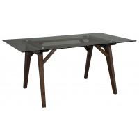 Joshton - Dark Brown - Rectangular Dining Room Table