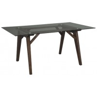 Joshton - Dark Brown - Rectangular Dining Room Table