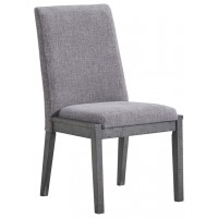 Besteneer - Dark Gray - Dining UPH Side Chair (2/CN)