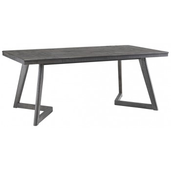 Besteneer - Dark Gray - Rectangular Dining Room Table
