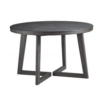 Besteneer - Dark Gray - Round Dining Room Table