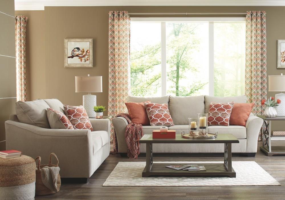 Baymore - Grayish Brown - Rectangular End Table