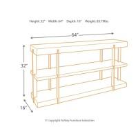 Gantoni - Two-tone - Sofa Table