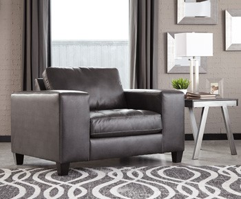 Nokomis   Charcoal   Chair And A Half