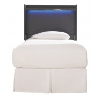 Annikus Twin Upholstered Panel Headboard