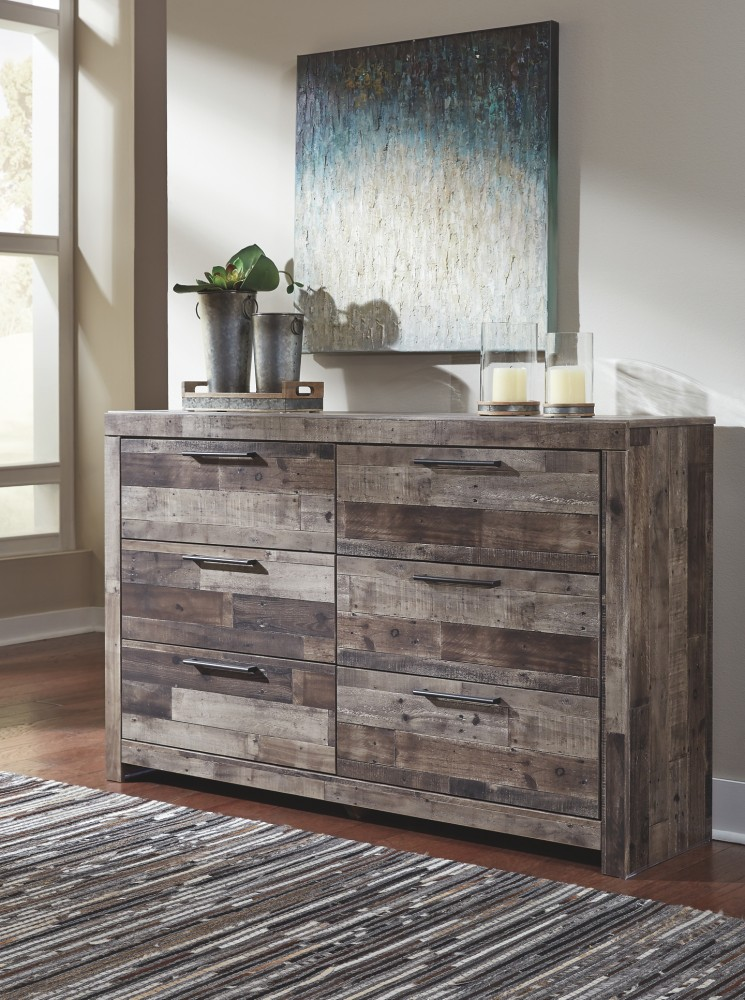 Derekson Multi Gray Dresser B200 31 Bedroom