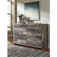Derekson - Multi Gray - Dresser