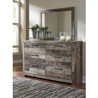 Derekson - Multi Gray - Bedroom Mirror