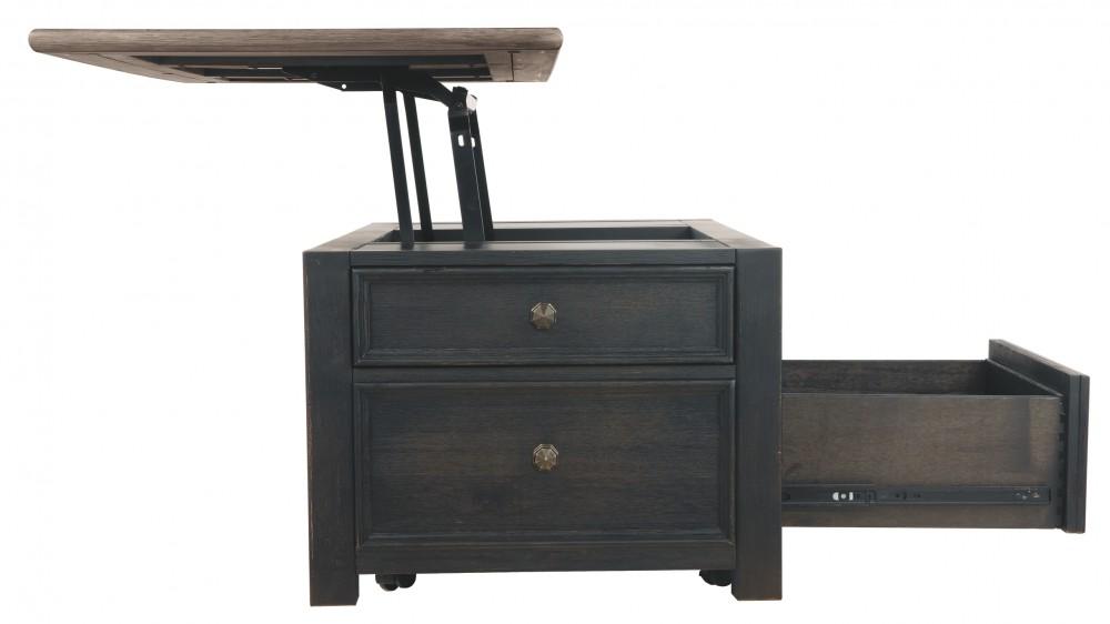 Lift Top Coffee Table Black.Tyler Creek Grayish Brown Black Lift Top Cocktail Table