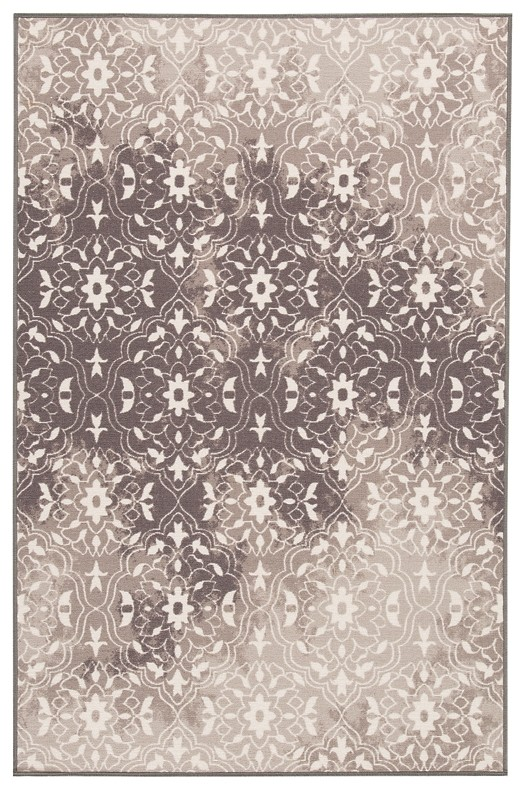 Jerilyn - Gray/White - Medium Rug