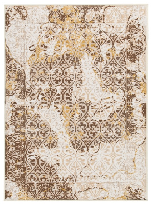 Jariath - Ivory/Brown - Medium Rug