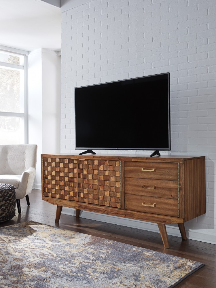 Chiladda - Warm Brown - Extra Large TV Stand
