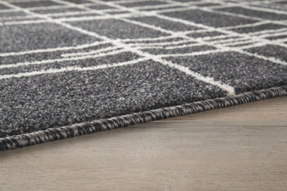 Jai black white large rug r403131 rugs express - Black and white rug ...