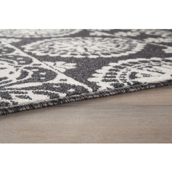 Jicarilla - Black/White - Large Rug
